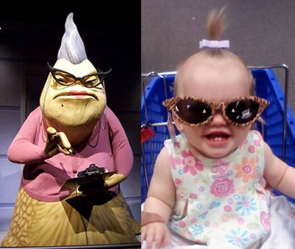 My Baby Was Roz In Her Previous Life...