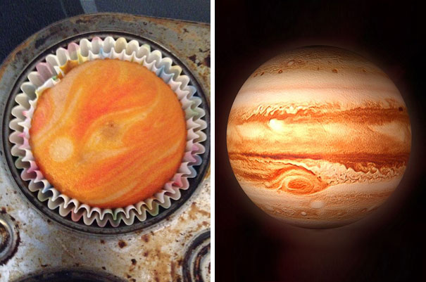 This Cupcake Looks Like Jupiter