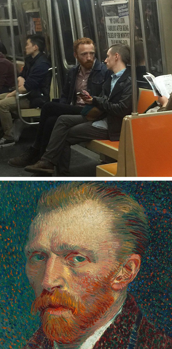 So I Ran Into Vincent Van Gogh Today
