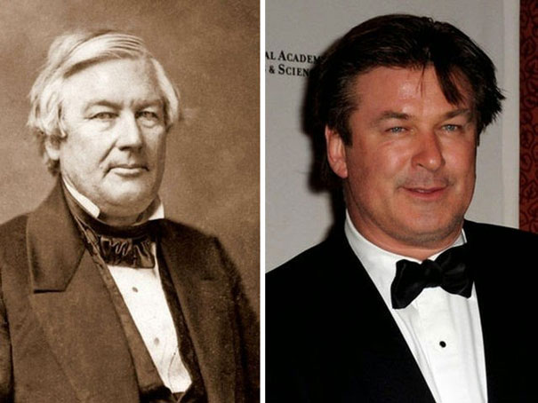 Alec Baldwin Looks Like Millard Fillmore (13th President Of America)