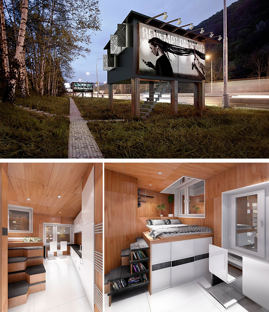 Miraculous 20 Tiny Homes That Make The Most Of A Little Space Bored Panda Largest Home Design Picture Inspirations Pitcheantrous