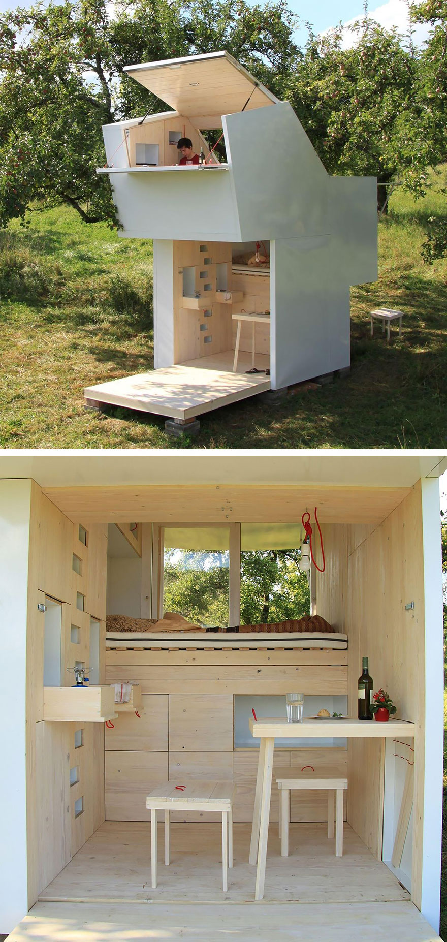 20 tiny homes that make the most of a little space for Small home images