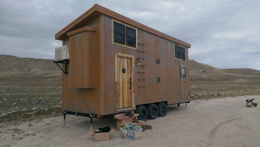 Incredible Steampunk Tiny House