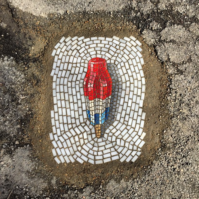 street-mosaic-pothole-ice-cream-jim-bachor-1