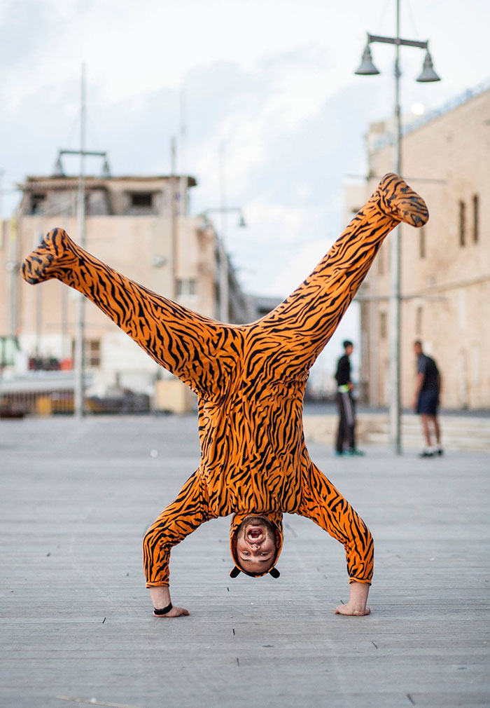 I Talk People Into Posing In A Tiger Suit
