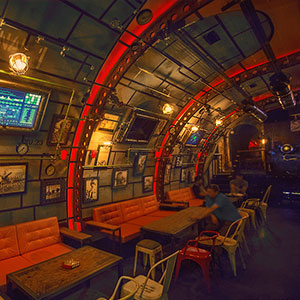 Steampunk Submarine-Themed Pub In Romania