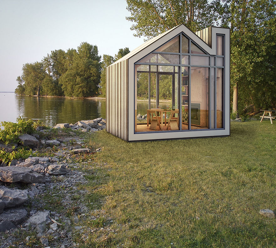 Insta-Bunkie: A Shelter That Can Be Assembled In A Day