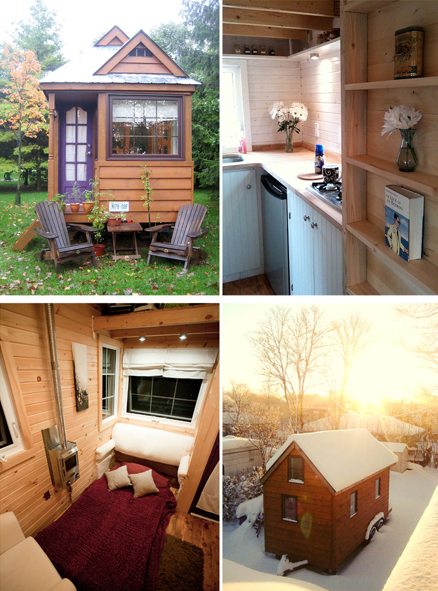 20 tiny homes that make the most of a little space for Small house interior