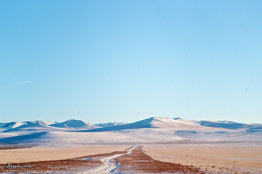 Winter In Mongolia Is Cold But Incredibly Beautiful