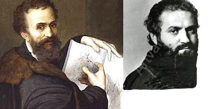 Michelangelo Reincarnated As Gianna Versace