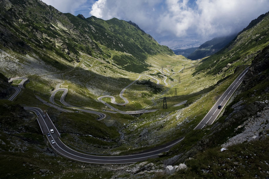 Transfagarasan Road - Carpathian Mountains - Romania