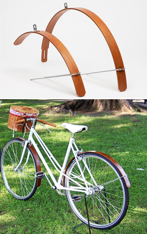 Wood Bicycle Fenders