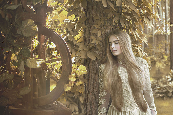 Magical Autumn Stories By Fine Art Portrait Photographer From Siberia