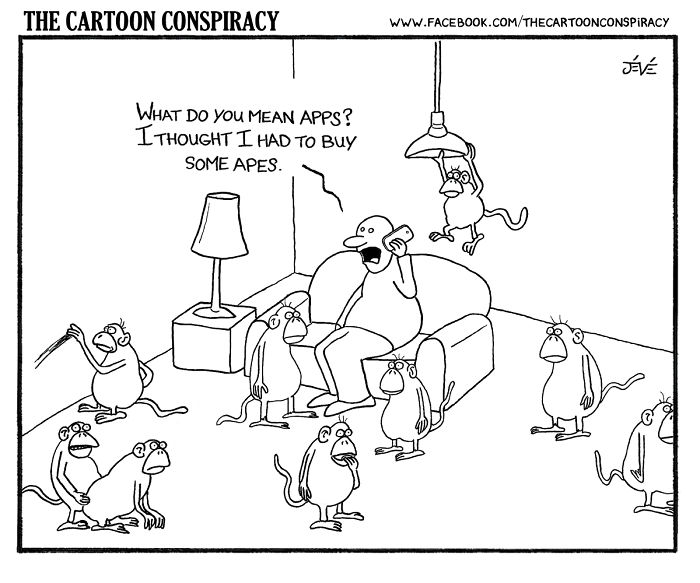 The Cartoon Conspiracy: My Funny And Sarcastic Illustrations