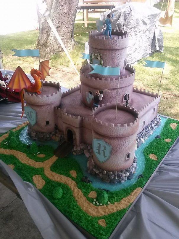Renaissance Faire Cake