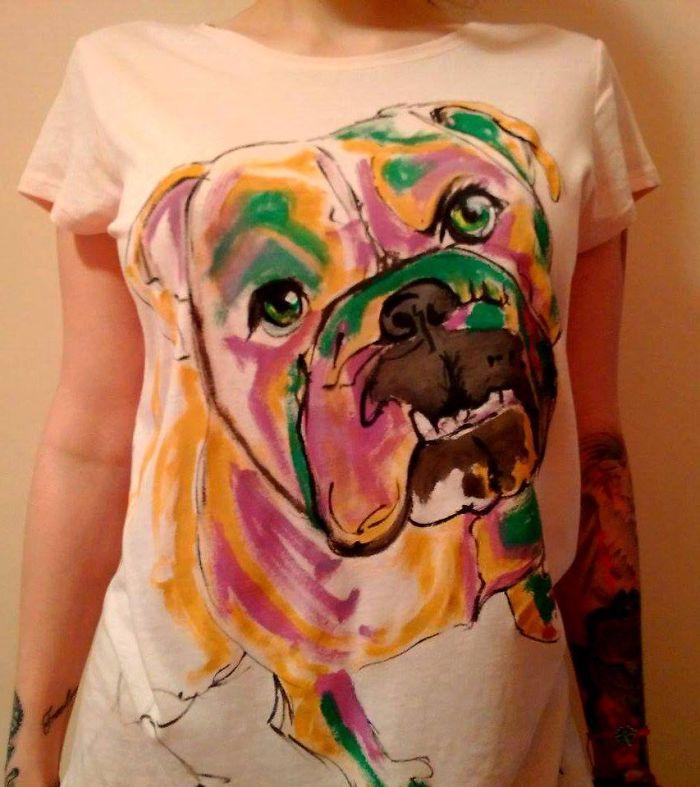 Handpainted Tshirt