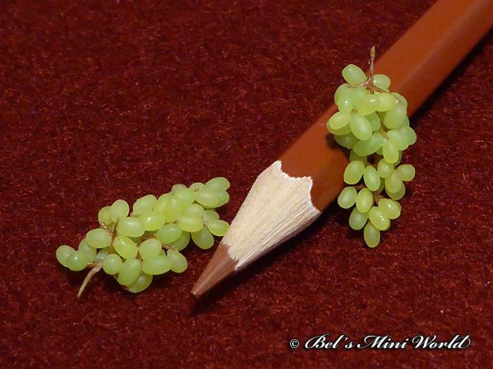 Super Realistic Food Miniature Sculptures For Doll House. Made By Bels Miniworld