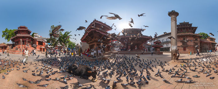 Our Panoramic Pictures Of Kathmandu Before The Earthquake