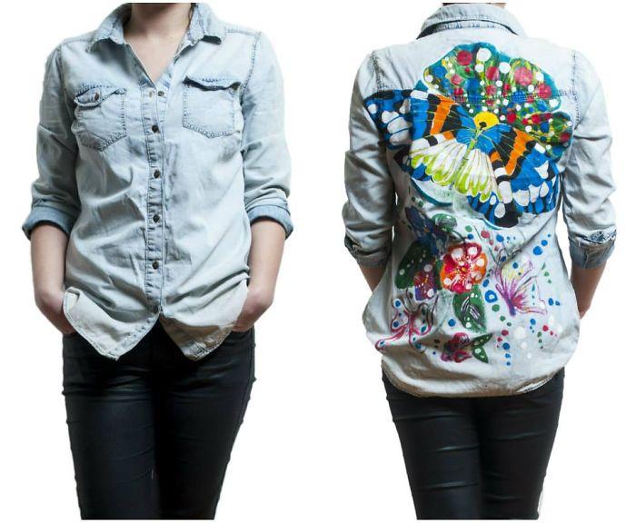 Handpainted Shirt