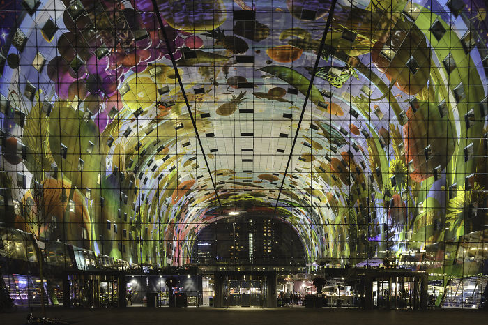 Markthal: Enormous Food Market In Rotterdam
