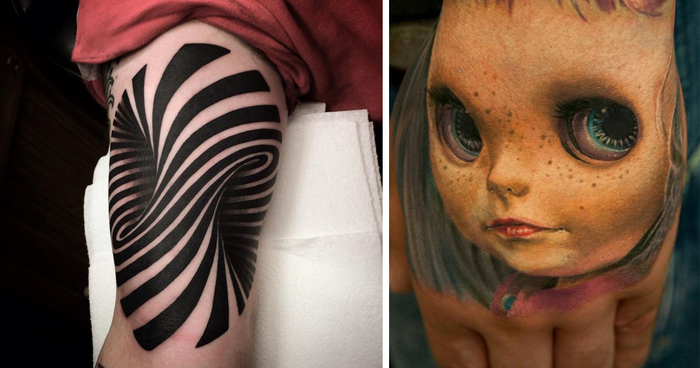 70 Crazy 3d Tattoos That Will Twist Your Mind Bored Panda