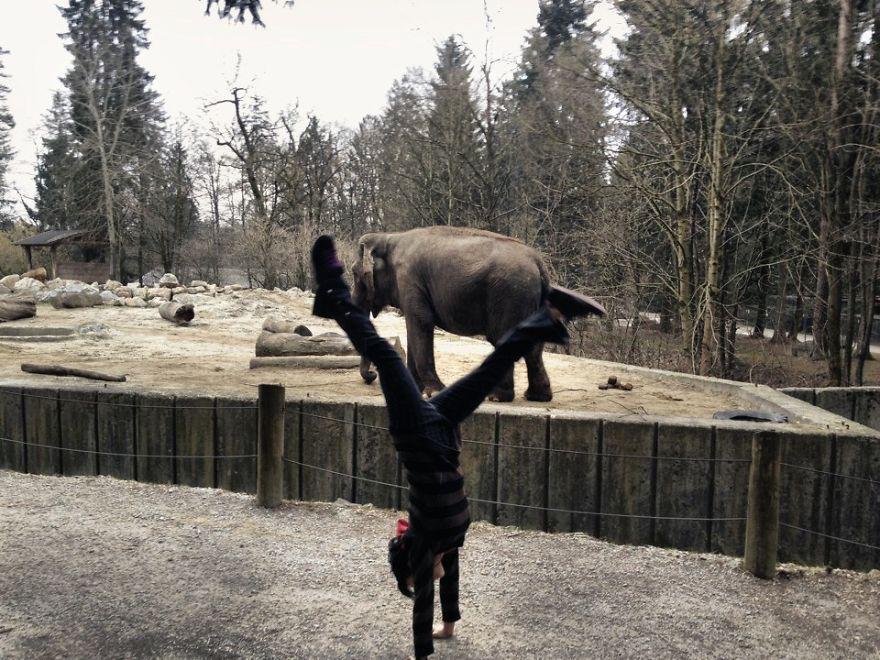 Handstands Around The World :)