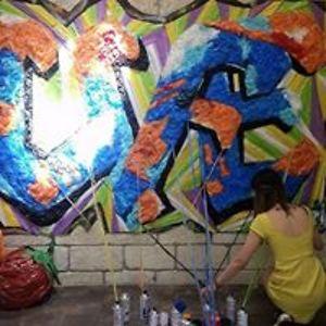 I Create Street Art Using Plastic Bags To Encourage People