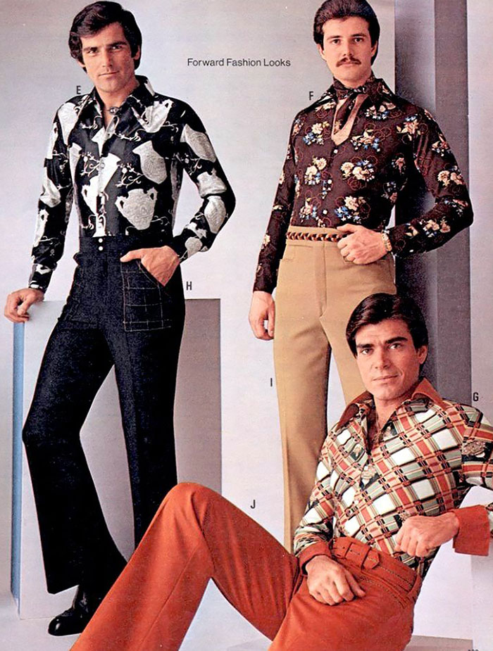 1970s Men S Fashion Ads You Won T Be Able To Unsee Bored Panda