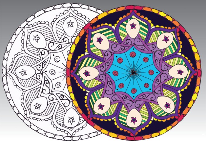 Artist Creates Mandala Colouring Book To Help Mothers Connect With Their Unborn Child