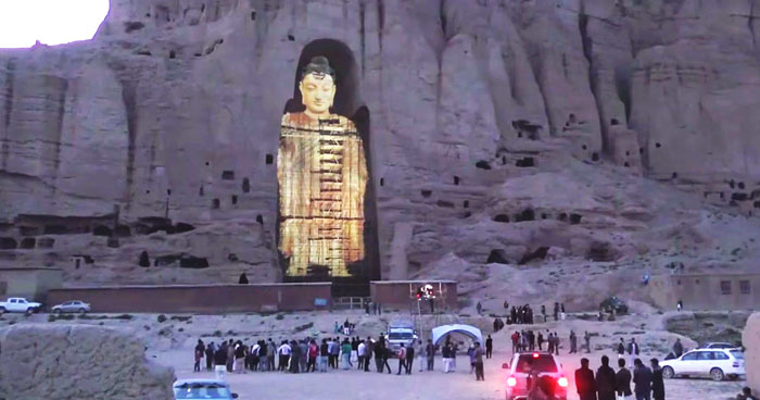 Buddhas Destroyed by Taliban Resurrected As Holograms
