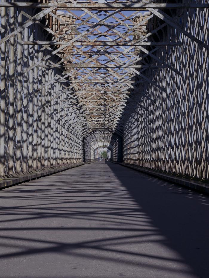 Stunning Construction Of A 19th Century Iron Bridge.