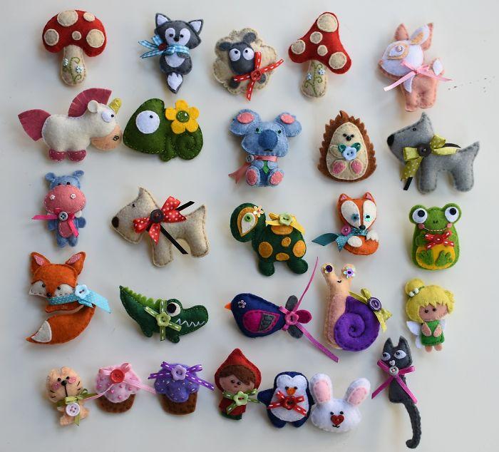 Judy's Cute Felt Animals