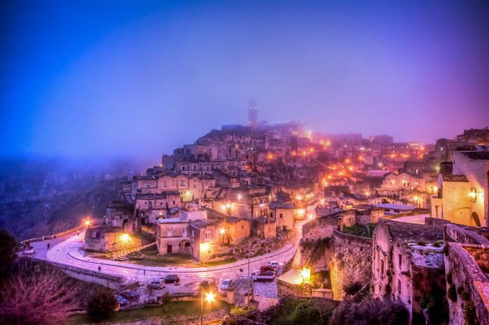 The Ancient Valleys And Churches Of Matera, Italy