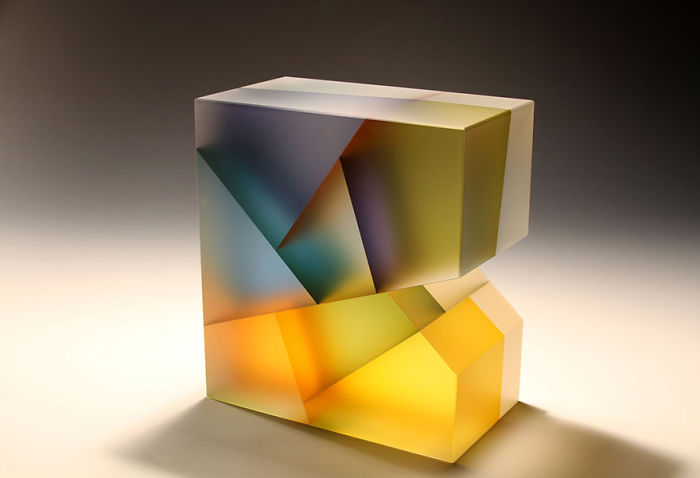 Artist Creates Translucent Glass Sculptures Inspired By Cell Division