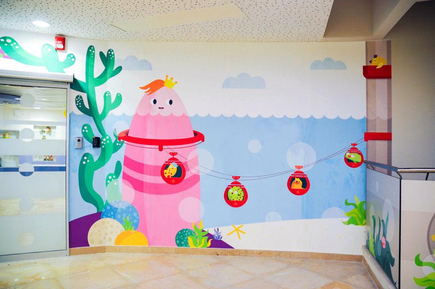 Wallpaper ruang periksa anak 4