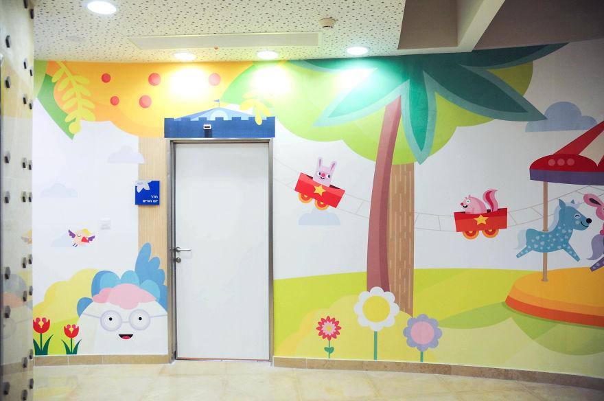 Wallpaper ruang periksa anak 9