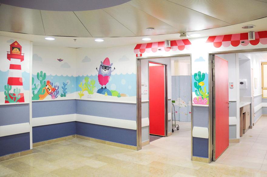 Wallpaper ruang periksa anak 6
