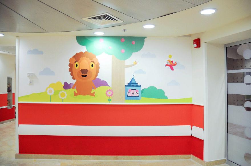 Wallpaper ruang periksa anak 11
