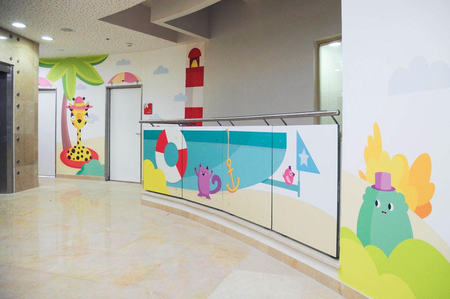 Wallpaper ruang periksa anak 8