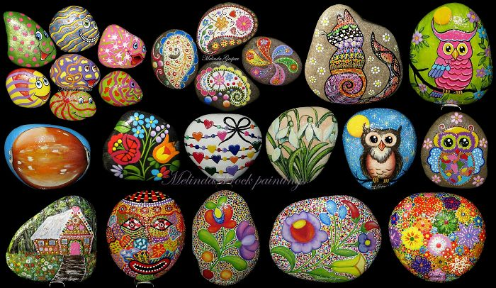 I Give Life To Stones By Painting On Them, Part Ii.