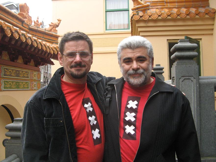 Wim And Sebastiano. 26 Years Together.