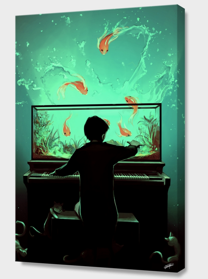 """le Pianoquarium"" By Cyril Rolando"