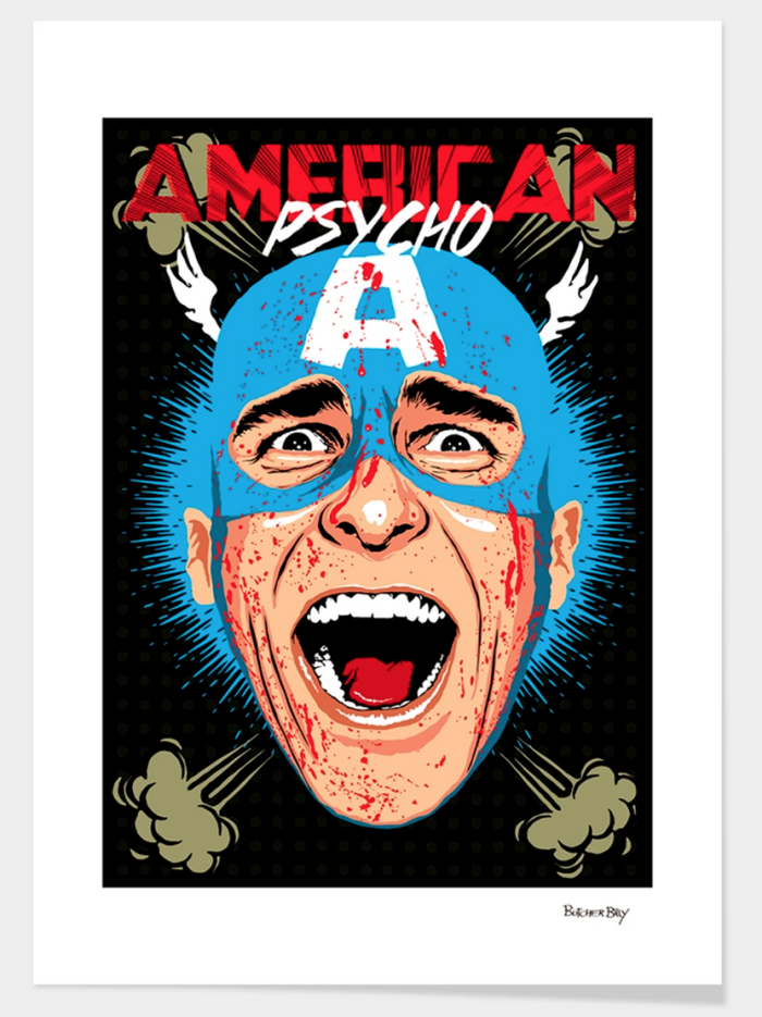 """american Psycho"" By Butcher Billy"