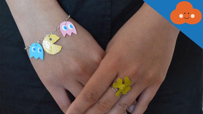 Pac-man Jewelry Charm Made By Orangecloud