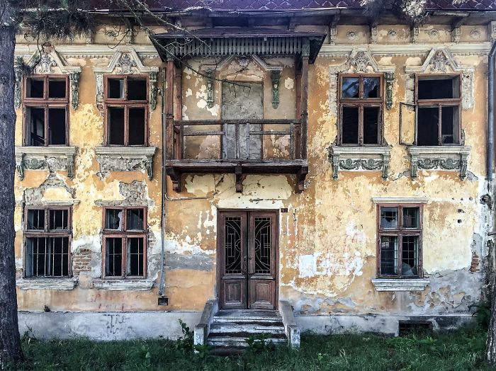 The Abandoned Mansions Of Romania