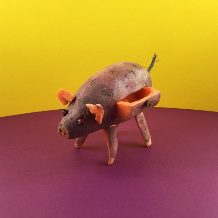 Sweet Potato Pig Body