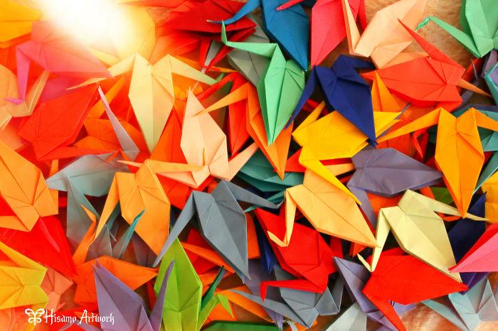 Senbazuru: 1,000 Origami Cranes