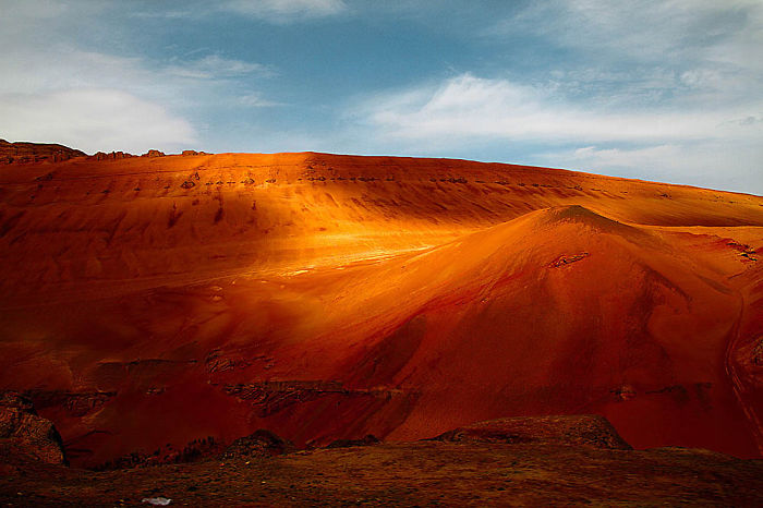 The Flaming Mountains