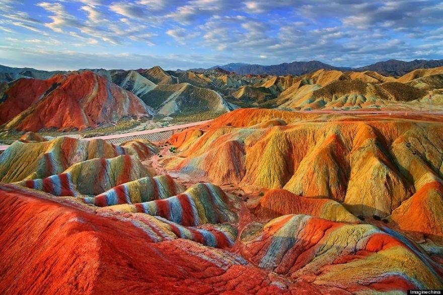 The Rainbow Mountain