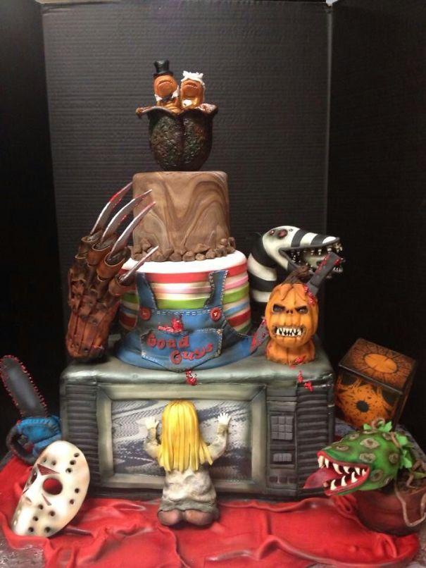 Horror Cake!